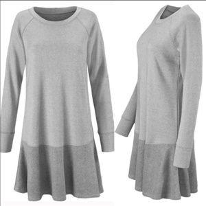 Cabi Flashdance sweatshirt dress